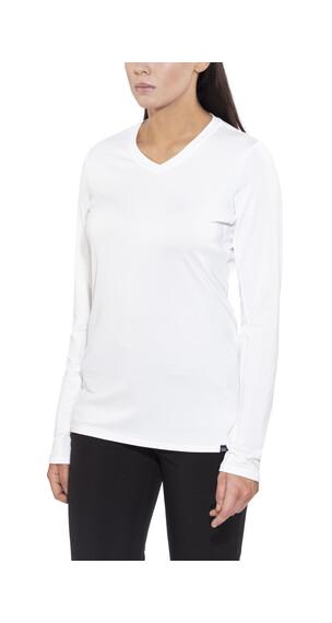 Patagonia Capilene Daily Langærmet T-shirt Damer hvid